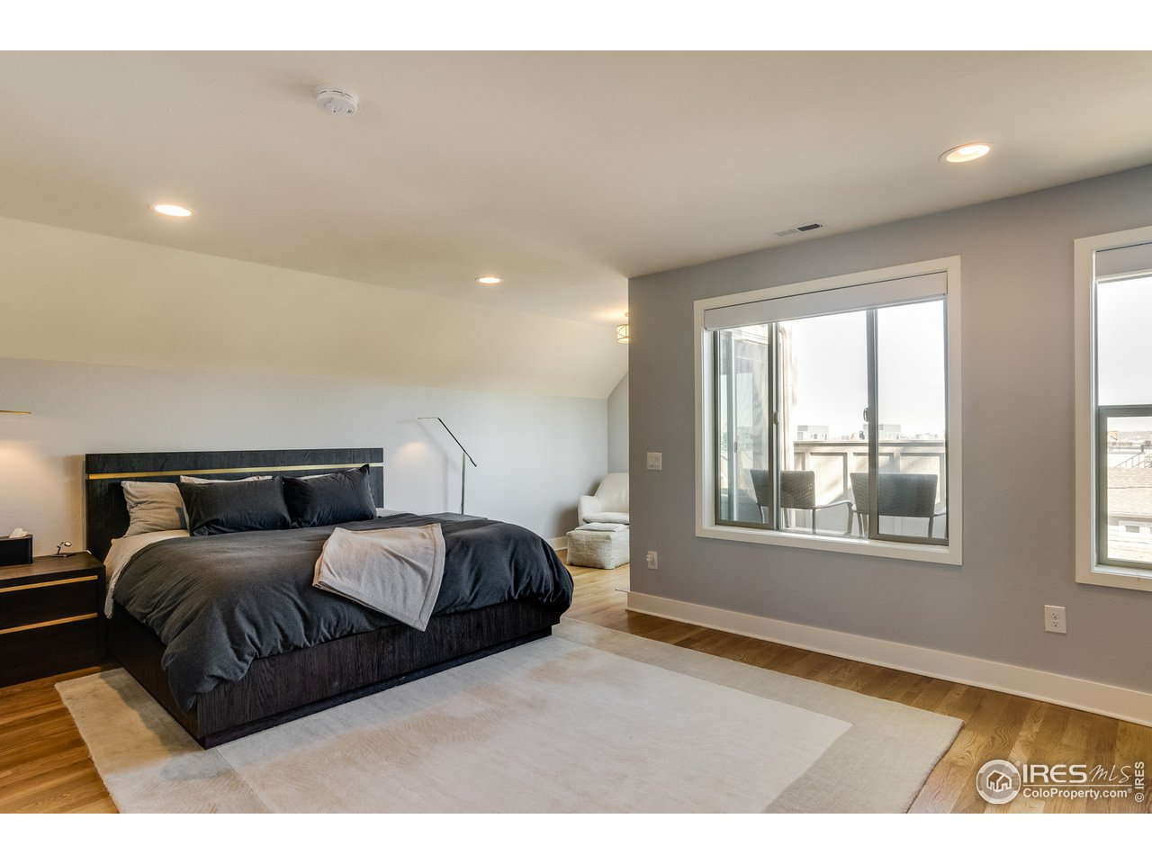 East Facing Master Bedroom Views
