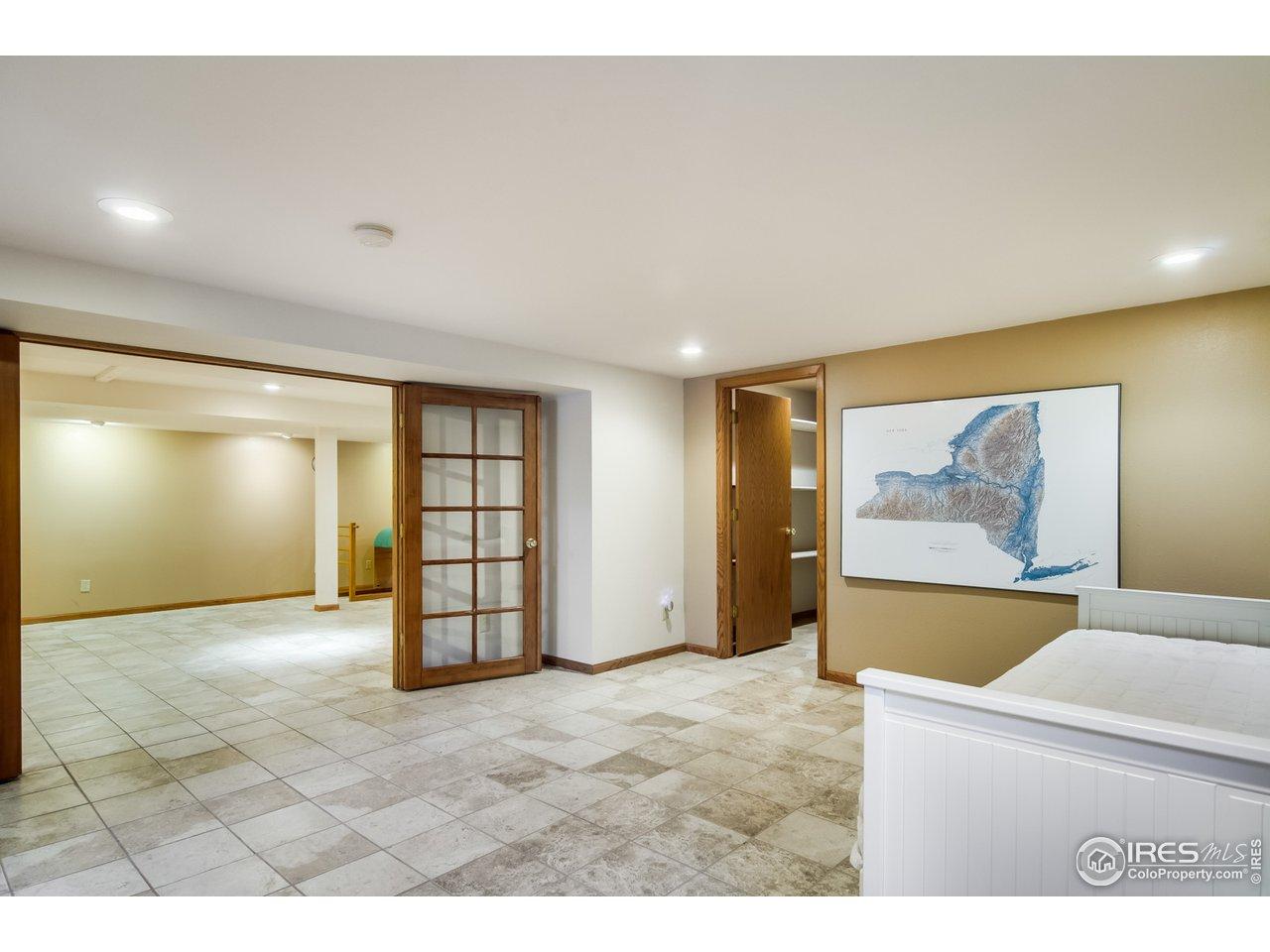 4th Basement Bedroom/Office