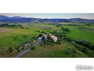 Lot surrounded by Conservation Easement