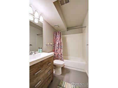 Remodeled lower level full bath