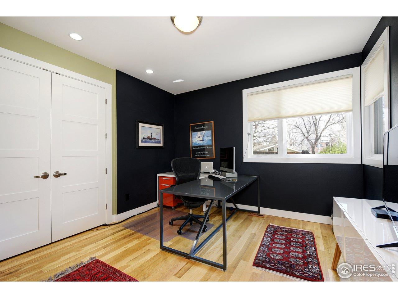Main floor bedroom/study