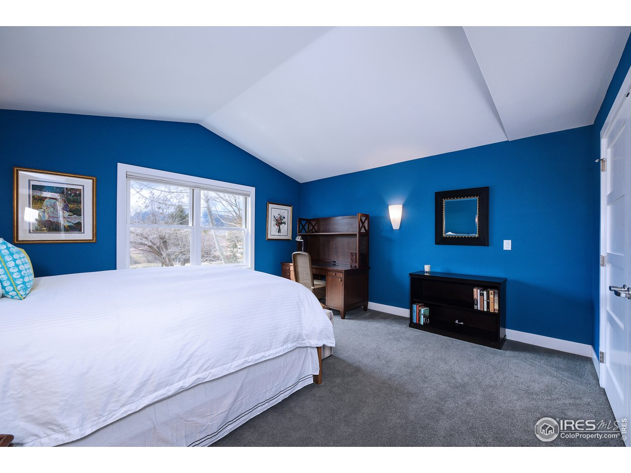 Carpeted 3rd bedroom