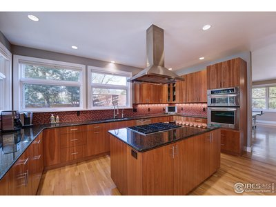 Fully featured cherry and granite kitchen