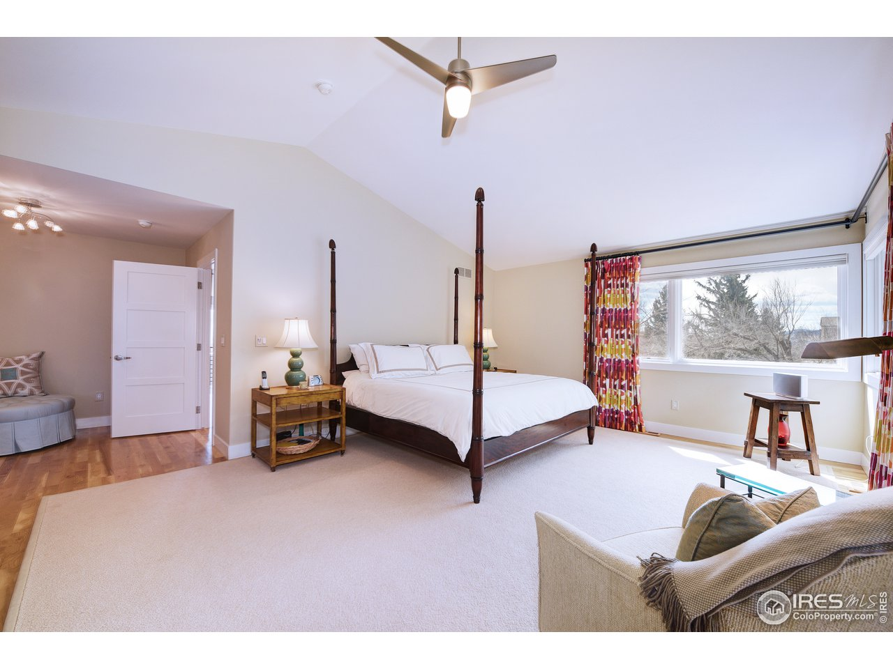 Master suite to southern light