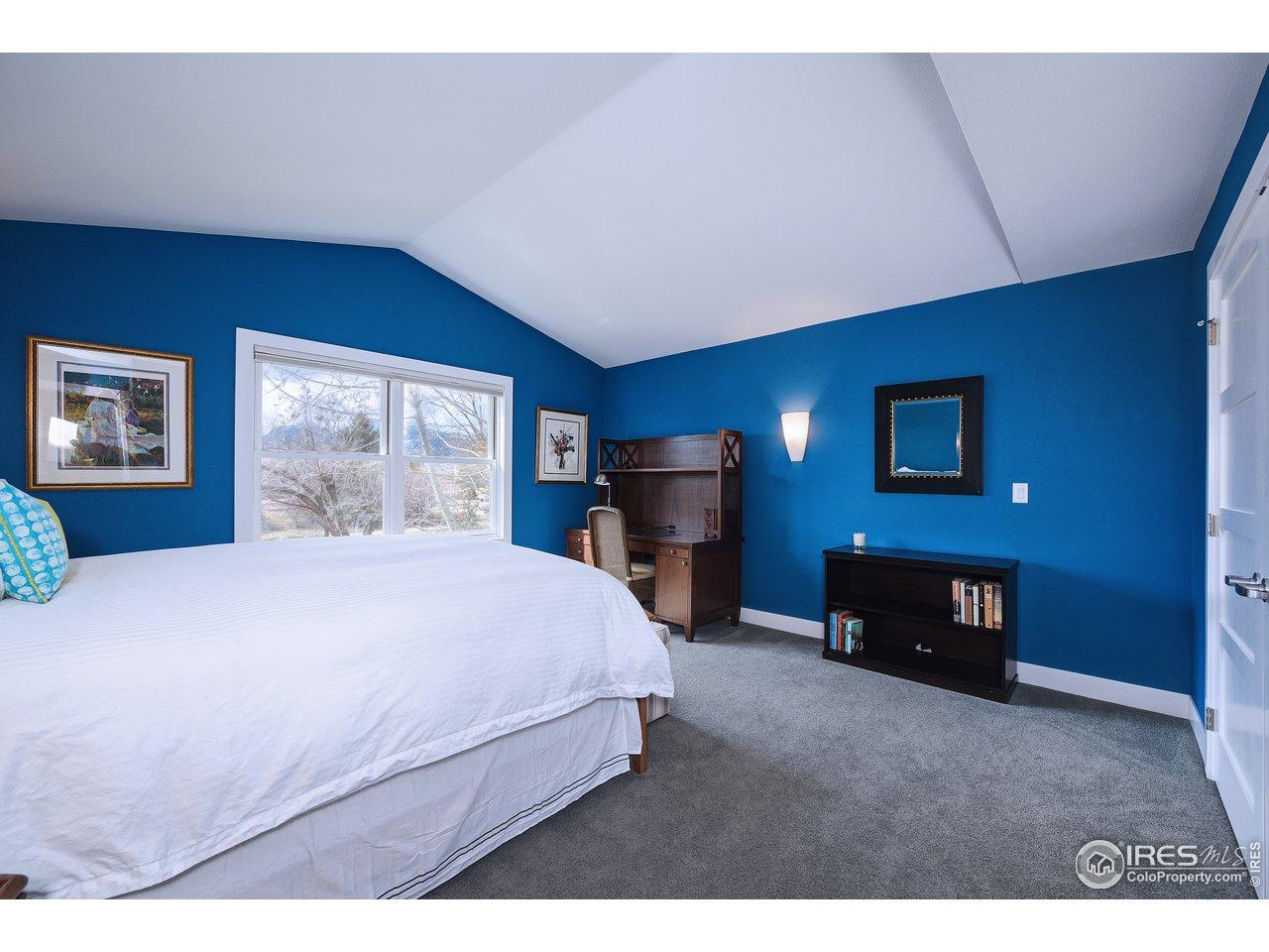 Carpeted 3rd bedroom