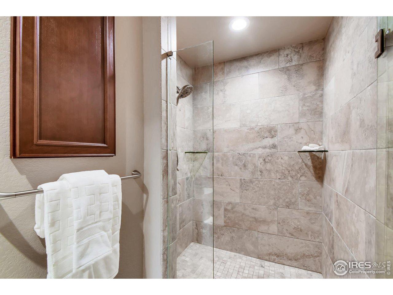 Large Walk-In Shower