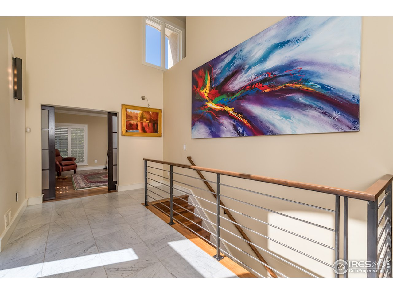 Great Room w/ 2-Story Ceilings & Windows