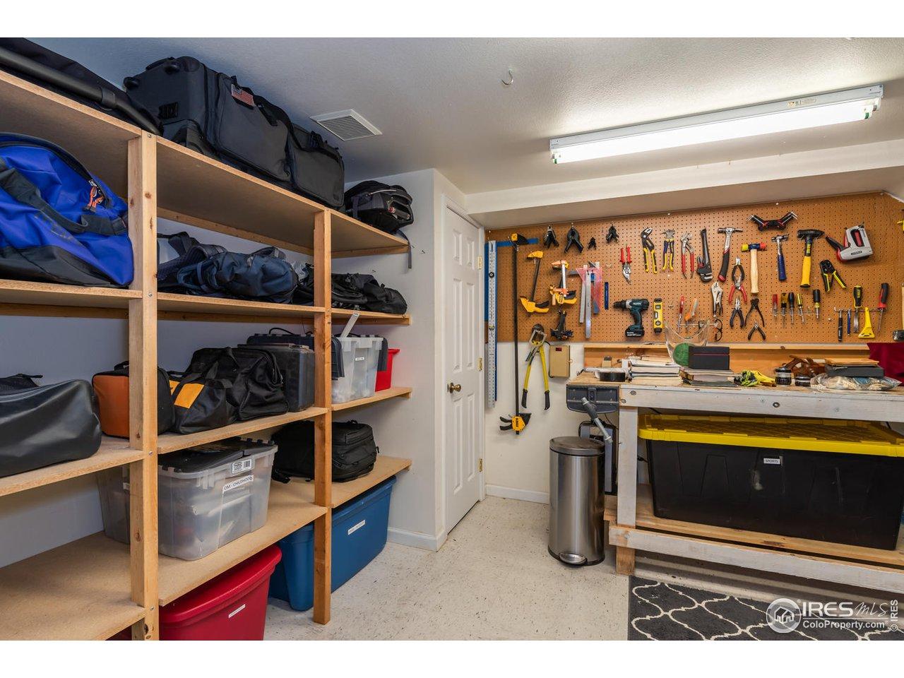 Plenty of Storage Space