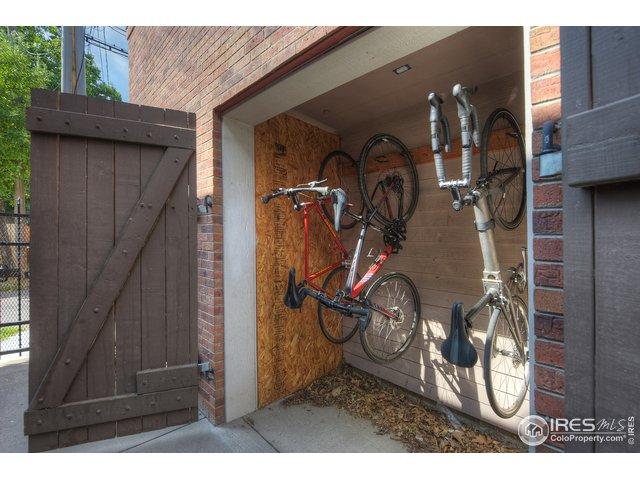 Shared Bike Closet