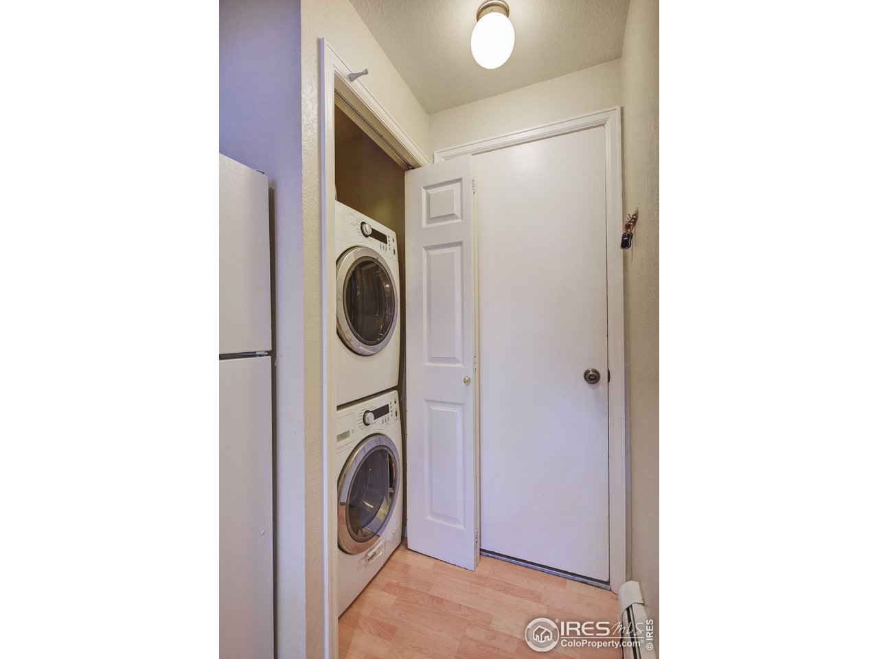 Washer/Dryer and Garage Entrance