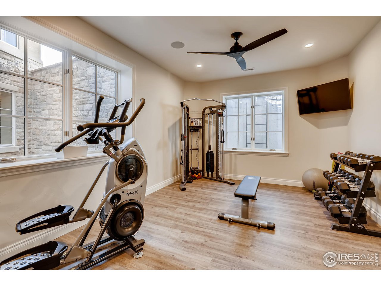 Basement Exercise or Flex Space