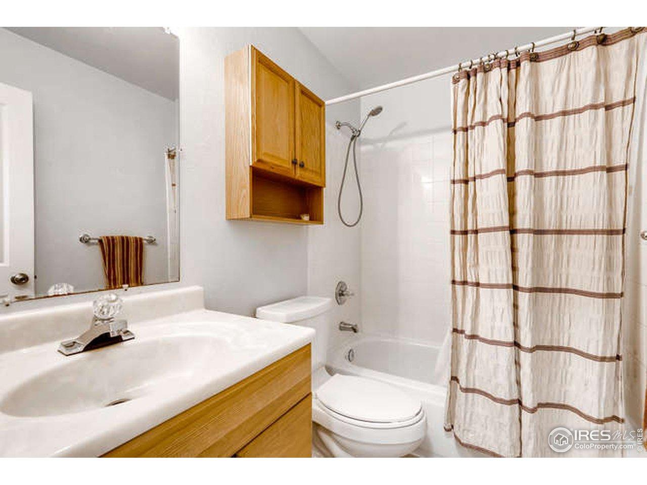 main floor shared bath