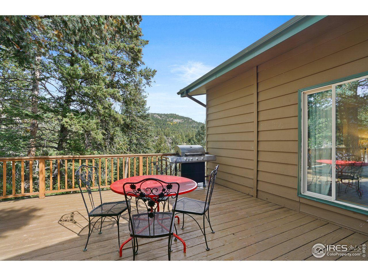 or Head Out to the Deck to Enjoy Sunshine and Views