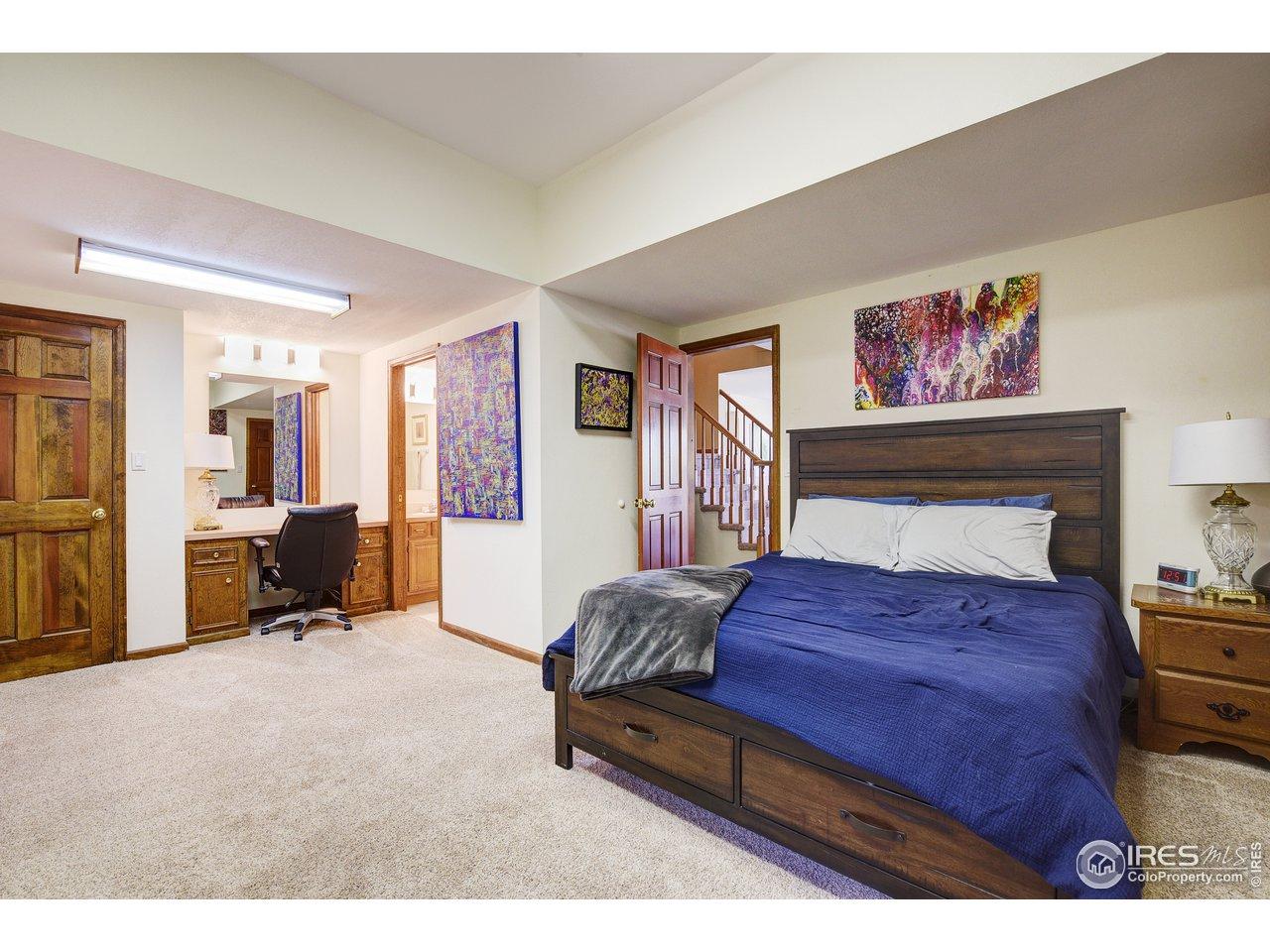 Bedroom #4 Lower Level Ensuite