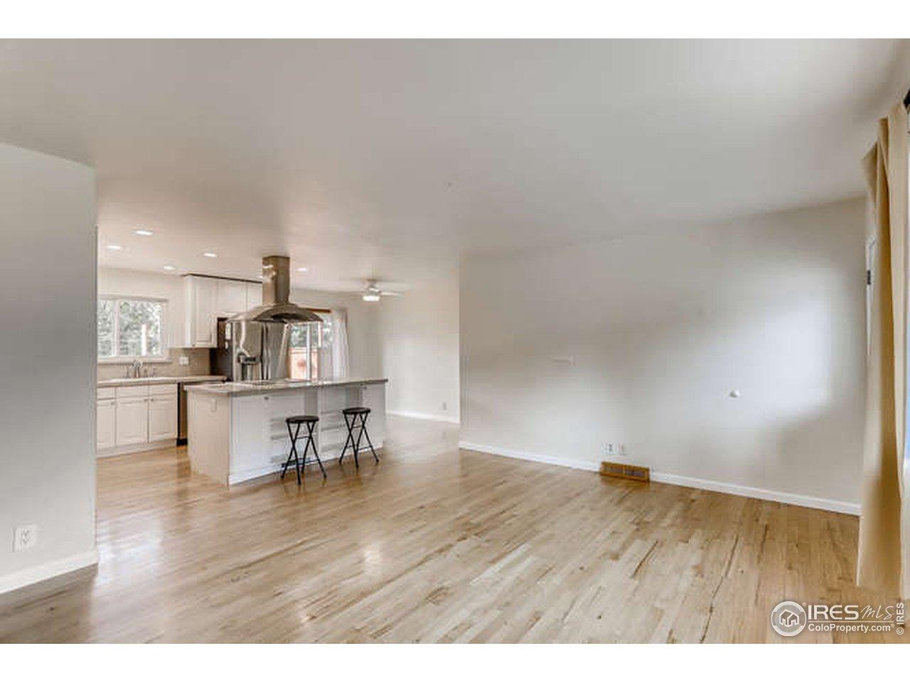 Wood Floors Throughout Main Floor