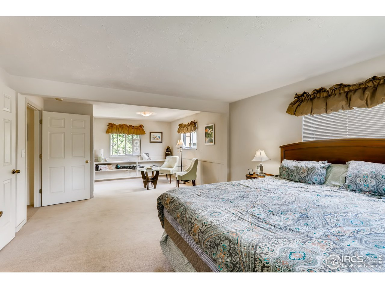 Large primary suite