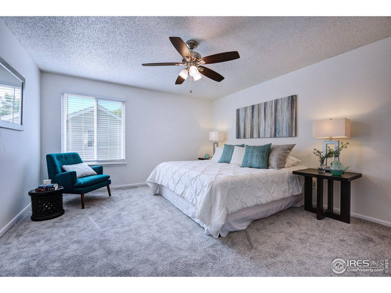 South facing master suite