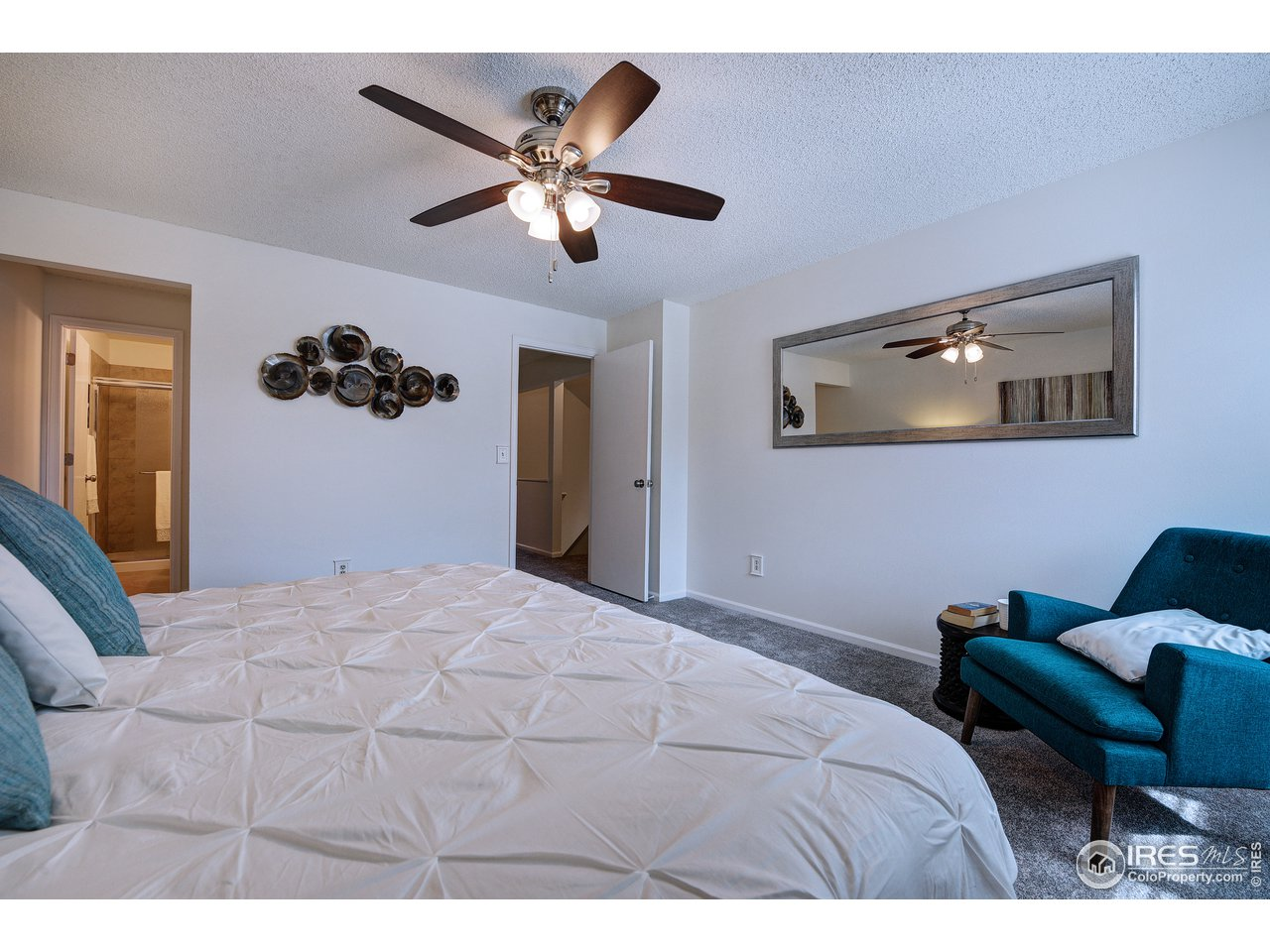 Nice ceiling fans in home