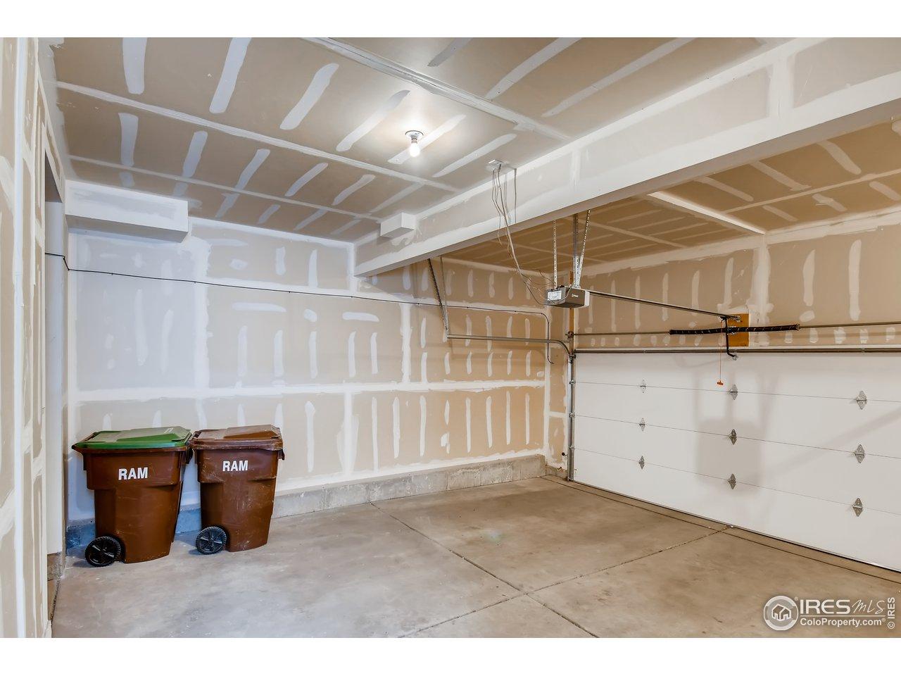 2-car attached garage