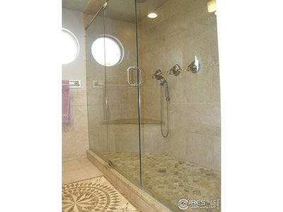 Giant master shower