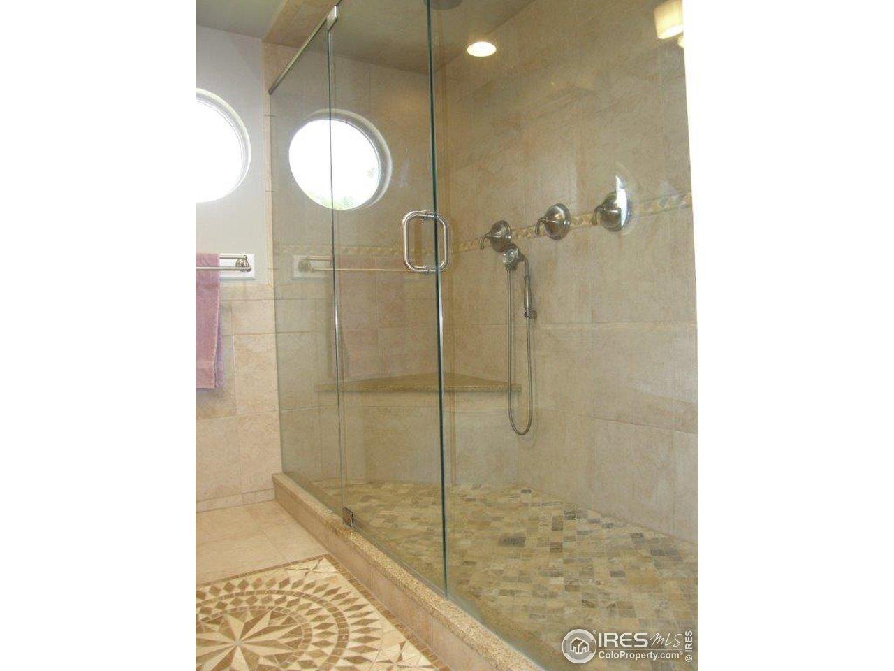 Giant master shower