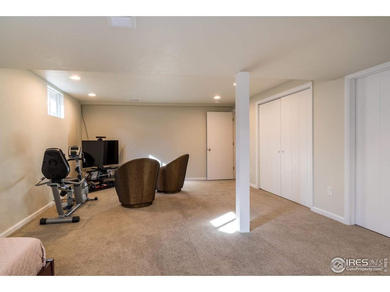Plenty of basement storage