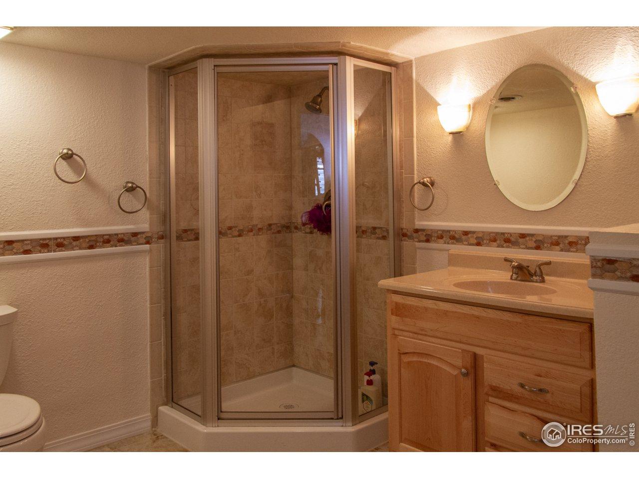 3/4 bath basement
