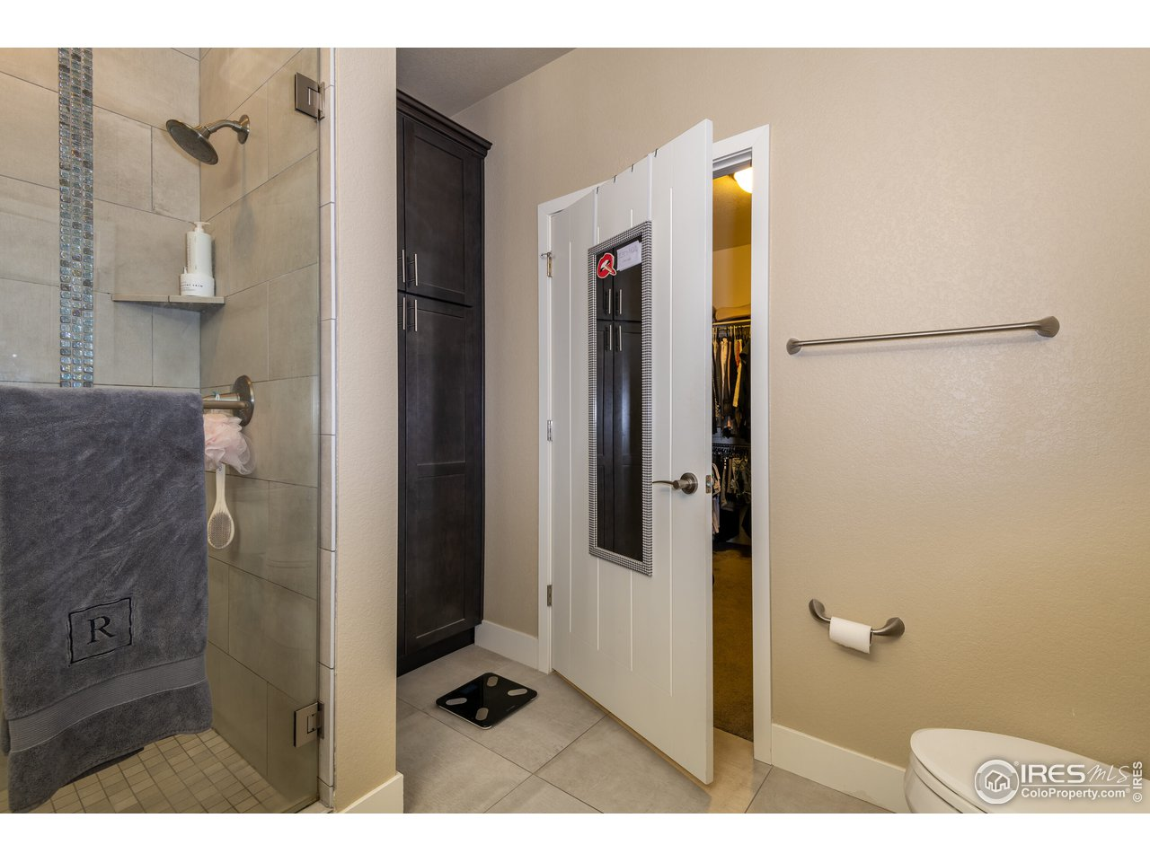 primary bath w/walk-in closet