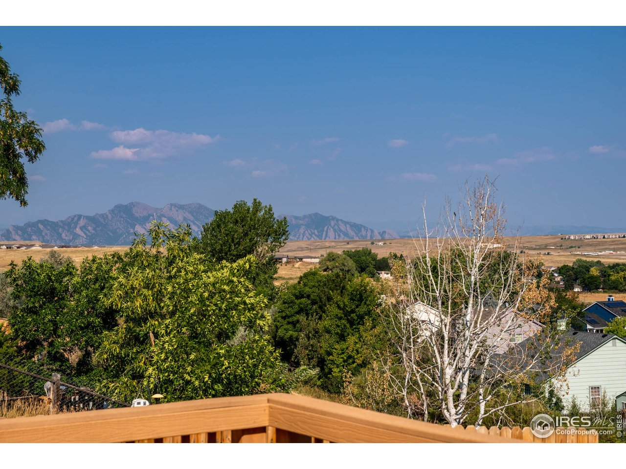 Mountain views from your deck!