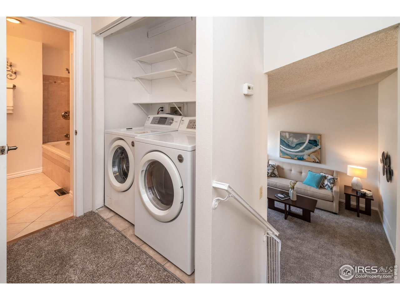 Front loading washer and dryer included