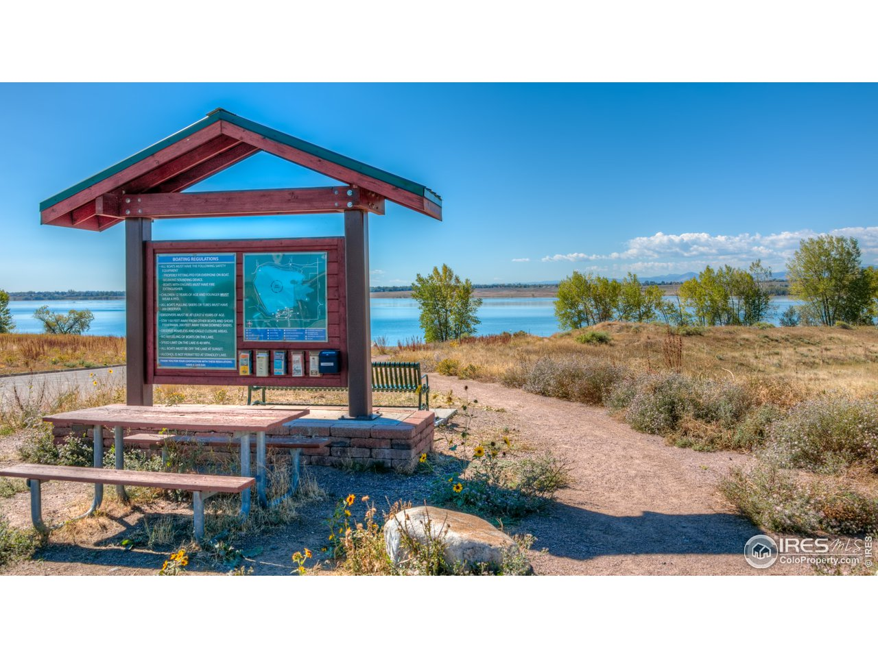 Standley Lake just south of Countryside for picnics, paddle boating, canoeing, camping, and an eagle preservation area