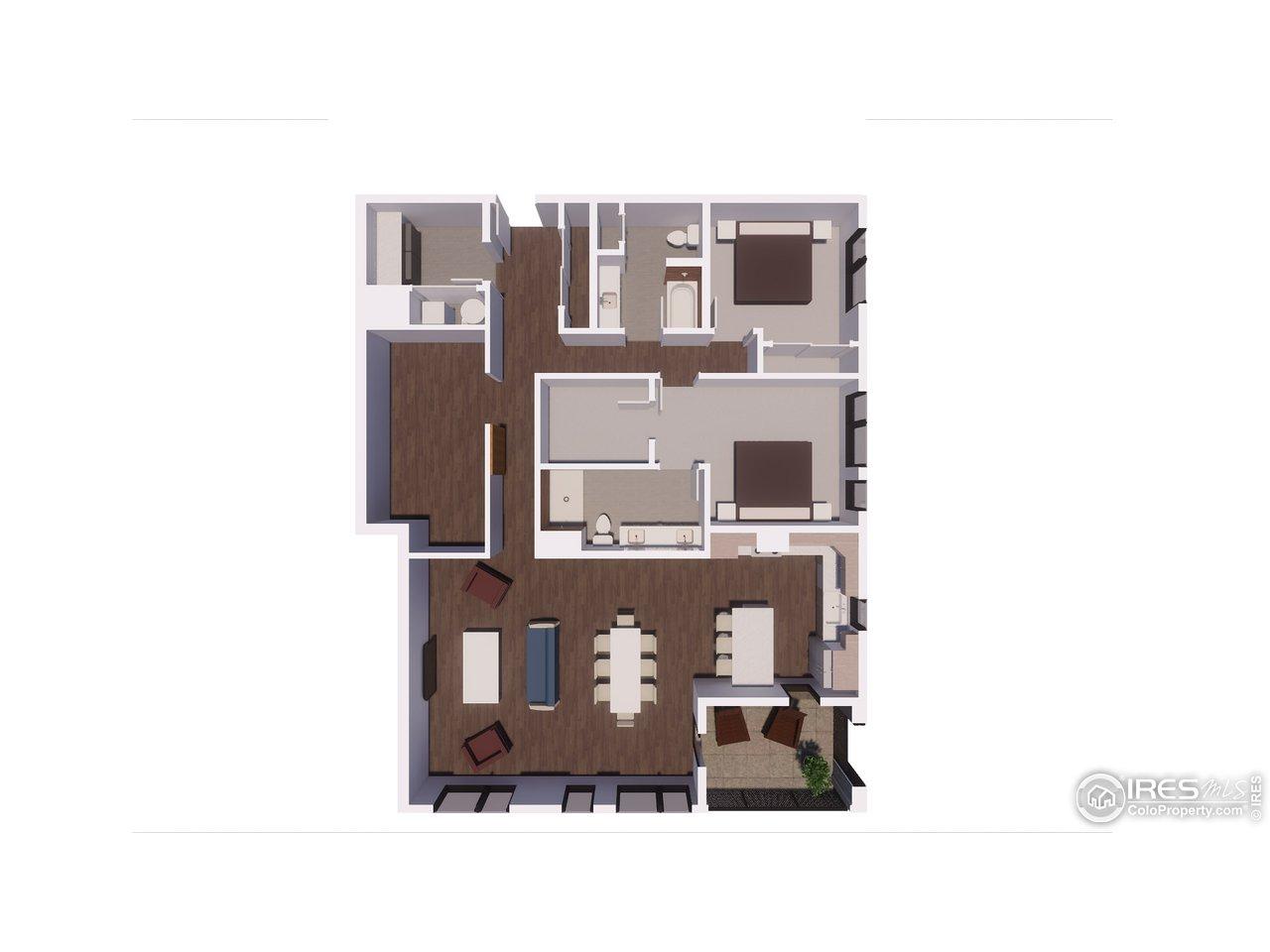 Unit 306 Floorplan