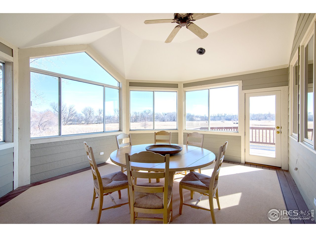 screened in porch offers many uses
