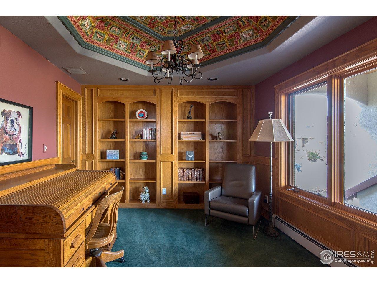 main floor study/office