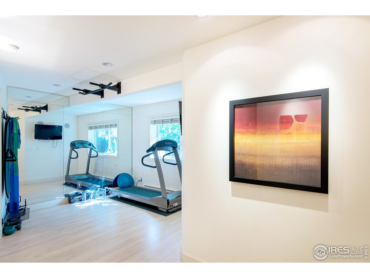 Time to work it off in the exercise room!
