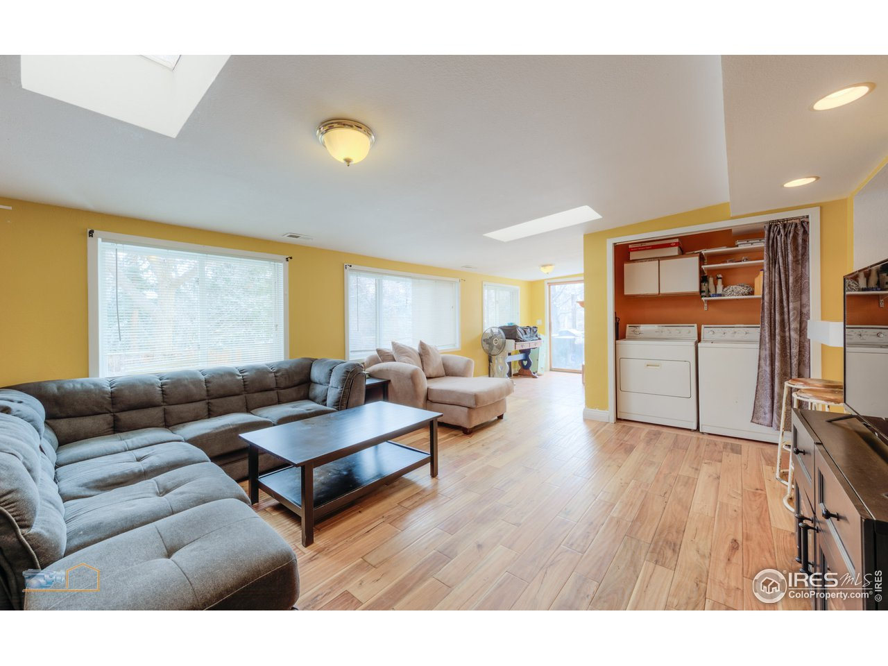 Family room addition, light and bright!