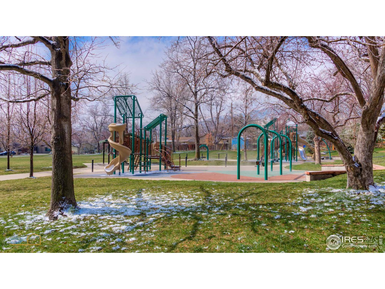 Play area of Melody Park.