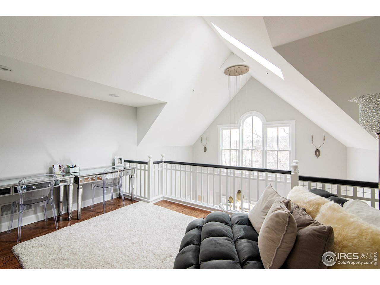 upstairs loft - great study area for homework sessions