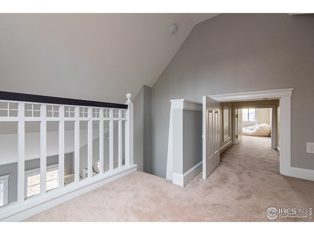 loft access via both 2nd/3rd bedrooms - FUN!