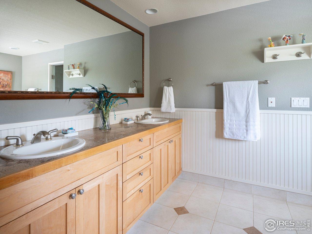 Primary bedroom bathroom