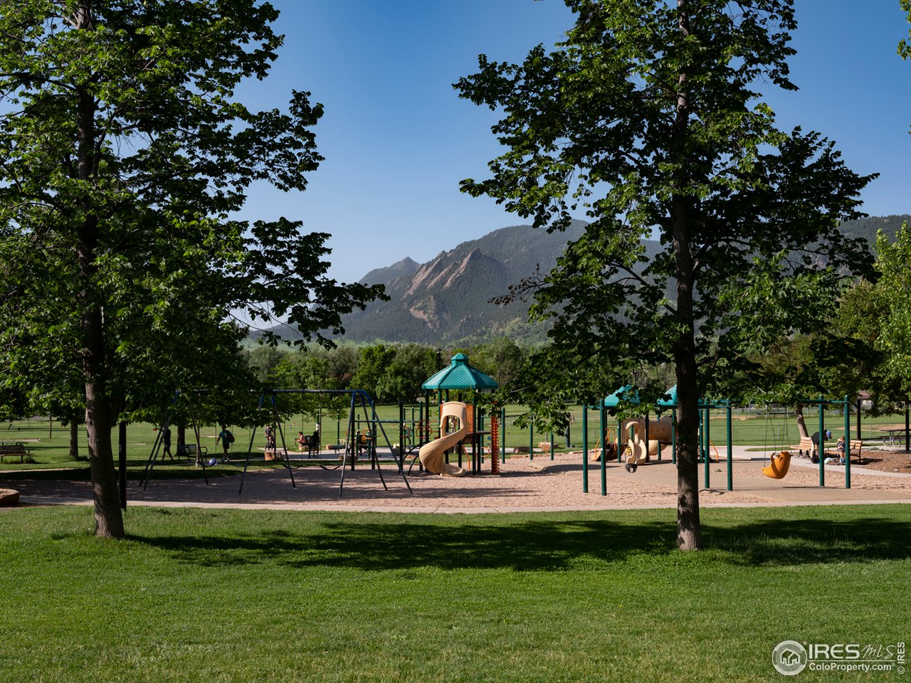 North Boulder park literally 5 houses away