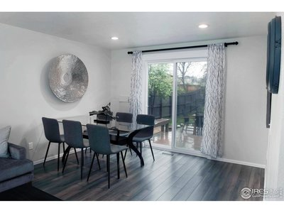Charming Dining Room Opens to Large Rear Deck