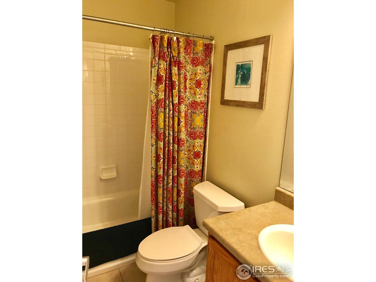 Main floor full bathroom!