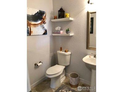 Updated powder room!