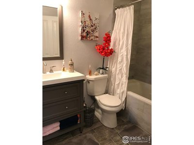 Upstairs full bath is updated!