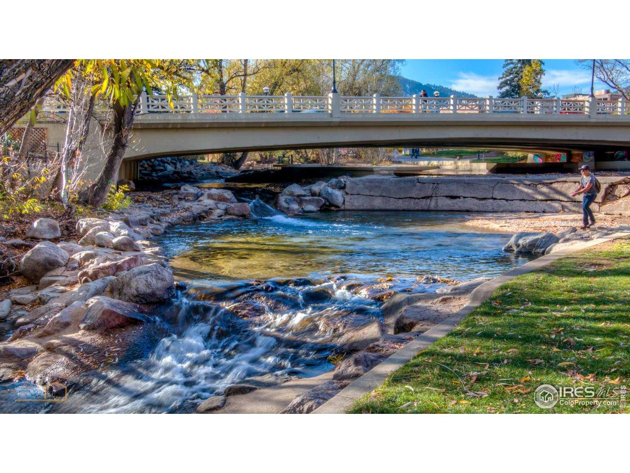 Be downtown...enjoy Boulder Creek