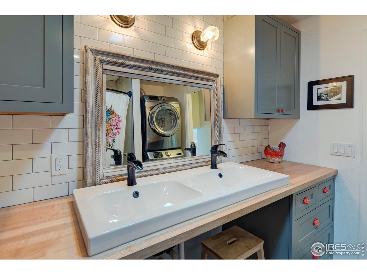 Double Sinks and Designer Fixtures