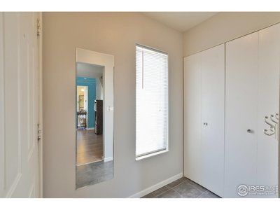 Bright Entry with Storage