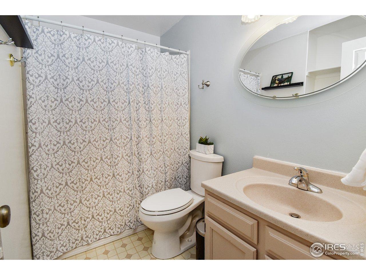 Shared Hall Bath