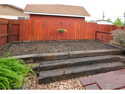 Garden Area Ready for Your Creations